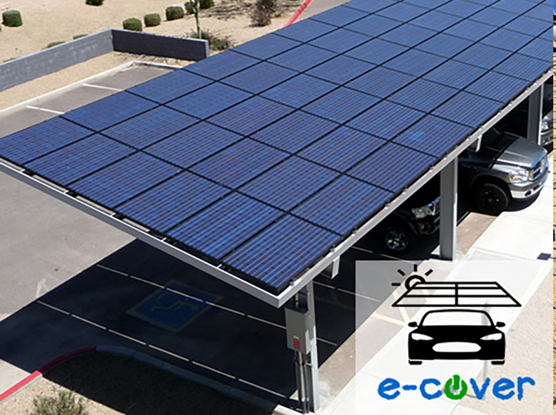 cochera solar, FirstPower